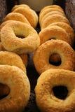 Bagels do queijo Imagens de Stock