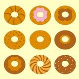 Bagels doux réglés Image stock