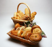 Bagels et Rolls Images stock