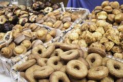 Bagels grillés Photographie stock libre de droits