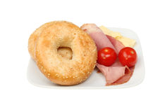 Bagels Royalty Free Stock Photography