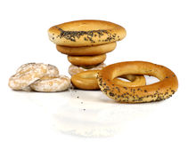 Bagels isolate Stock Photo