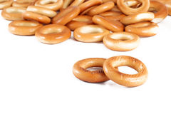 Bagels isolated Stock Photo