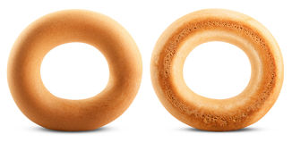 Bagels isolated Royalty Free Stock Photos