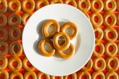 bagels matrycują rosjanina tradycyjnego Obrazy Royalty Free