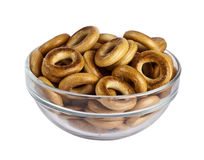 Bagels in plate Royalty Free Stock Photo