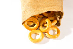 Bagels saborosos Fotografia de Stock Royalty Free