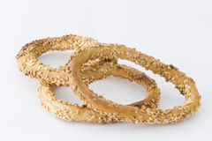 Bagels with sesame Royalty Free Stock Image