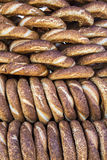 Bagels turcos/Simit Imagem de Stock