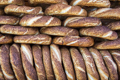Bagels turcs/Simit Images stock
