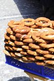 Bagels turcs traditionnels photo stock