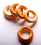 Bagels  on White background Stock Images