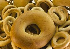 Bagels. On white background Stock Images