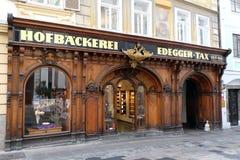 Bageri för skattdomstol i Graz Arkivfoto