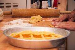 Bageri hemma Arkivbild