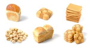 bageri isolerad set Arkivfoton