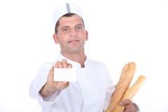 Bageriarbetare Arkivbild