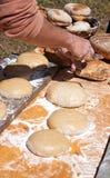 bageribrödmatlagning Royaltyfri Foto
