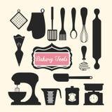 Bageridesign royaltyfri illustrationer