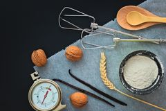 Bageriförberedelsehjälpmedel Royaltyfri Bild