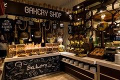 bagerit shoppar royaltyfri bild