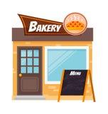 bagerit shoppar Royaltyfri Illustrationer