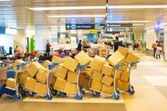 Baggage at airport Stock Photo