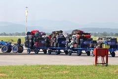 Baggage at airport Royalty Free Stock Photo