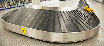 Baggage belt Stock Images