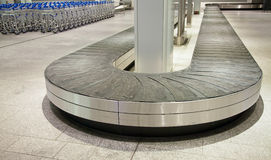 Baggage belt Royalty Free Stock Photo