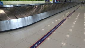 Baggage carousel Royalty Free Stock Photo