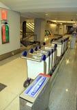 Baggage Carts Stock Image