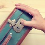 Baggage check Stock Image