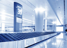 Baggage claim Royalty Free Stock Photo