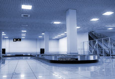 Baggage claim area. In airport photo Royalty Free Stock Photography