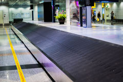 Baggage claim area in  international airport Stock Images