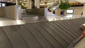 Baggage Claim, Luggage and Suitcases, Bags.  stock video footage