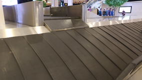 Baggage Claim, Luggage and Suitcases, Bags.  stock footage