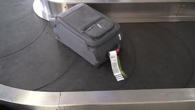 Baggage Claim, Luggage and Suitcases, Bags. Stock video of a baggage claim conveyor stock video