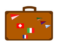 Baggage flags Stock Photos