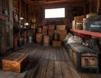 Baggage Handlers Office and Storage Stock Images