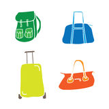 Baggage and Luggage 2 Royalty Free Stock Image