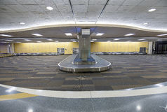 Baggage, Luggage Conveyor Belt, Carousel Stock Images