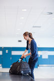 Baggage reclaim at the airport Royalty Free Stock Photography