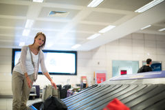 Baggage reclaim at the airport Royalty Free Stock Images