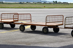 Baggage small carts Stock Photography