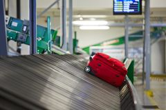 Baggage sorting Stock Image