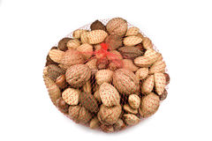 Bagged Mixed Nuts Stock Photos