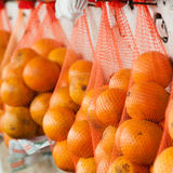 Bagged Oranges Stock Image