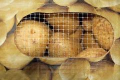 Bagged Potatoes Royalty Free Stock Photos